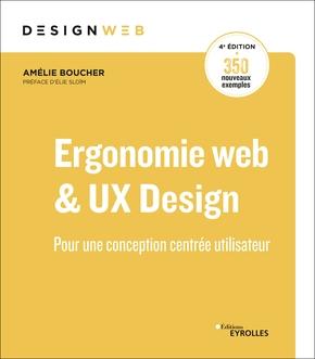 Livre Ergonomie web & UX design