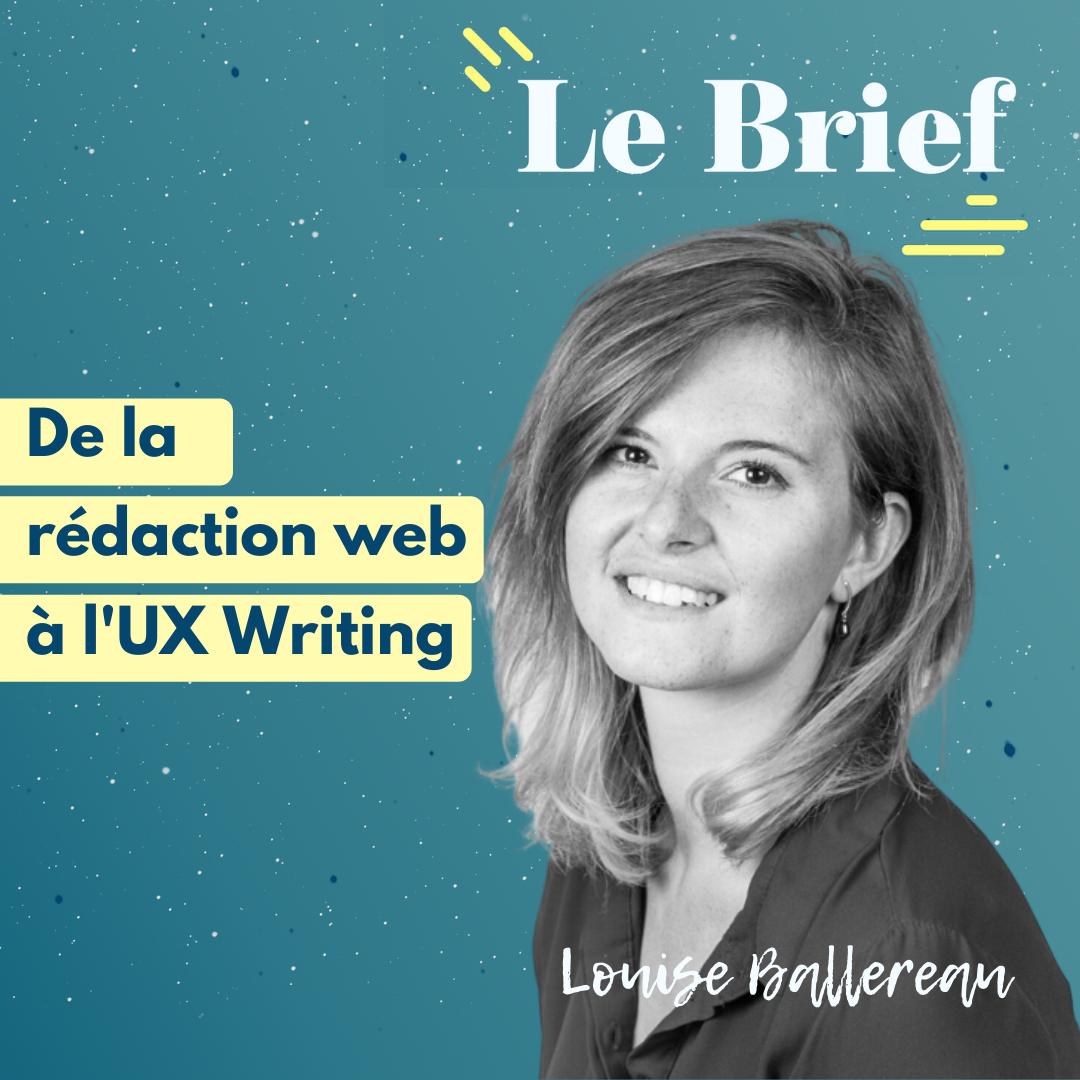 Louise Ballereau, rédactrice web et UX Writer