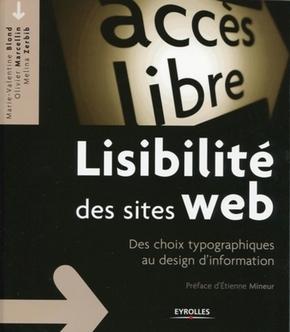 Livre Lisibilité des sites web