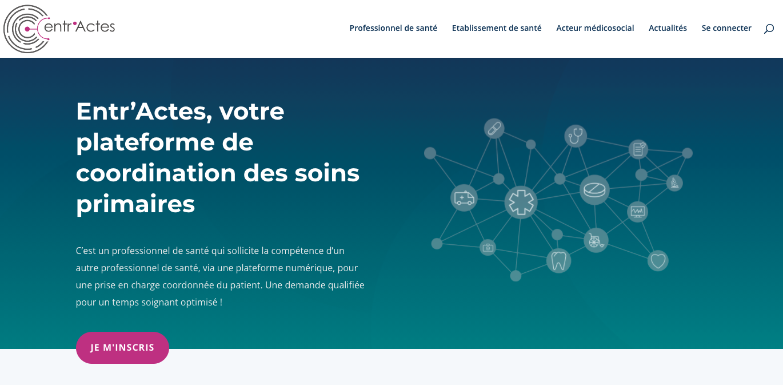 Site internet de l'entreprise Entr'Actes