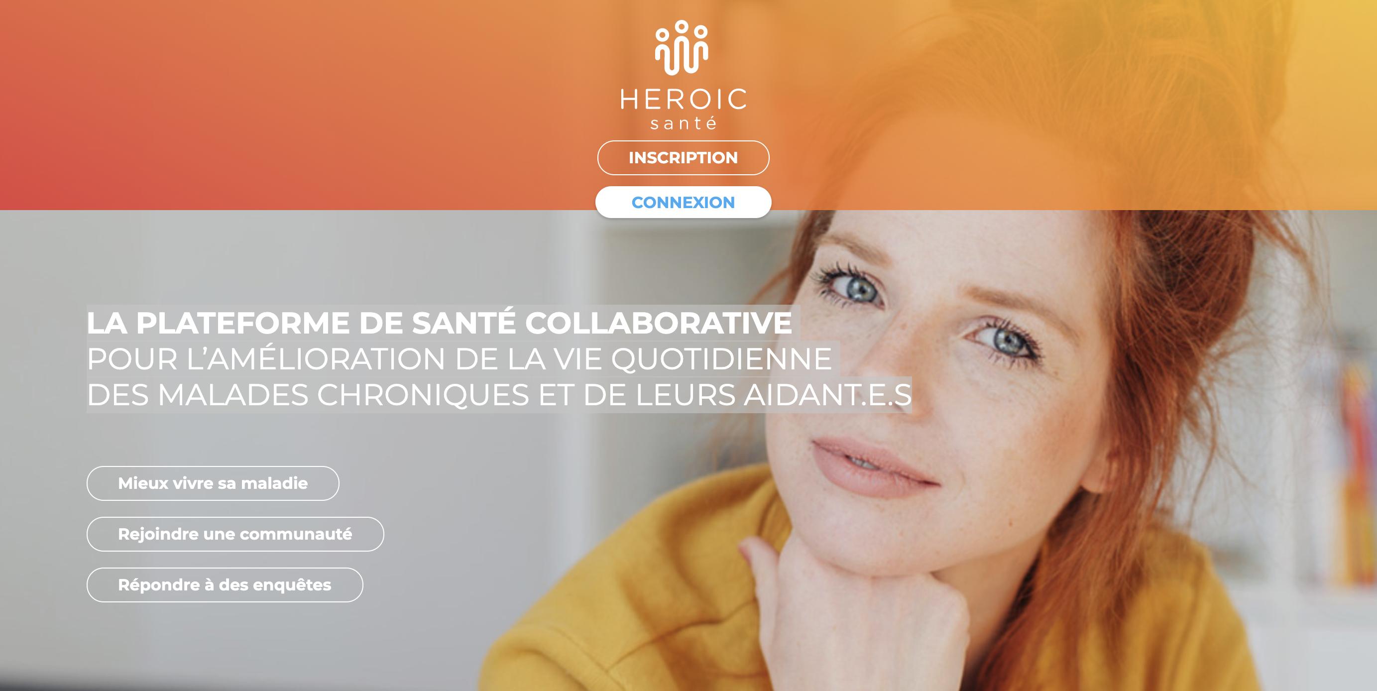 Site internet de HEROIC santé