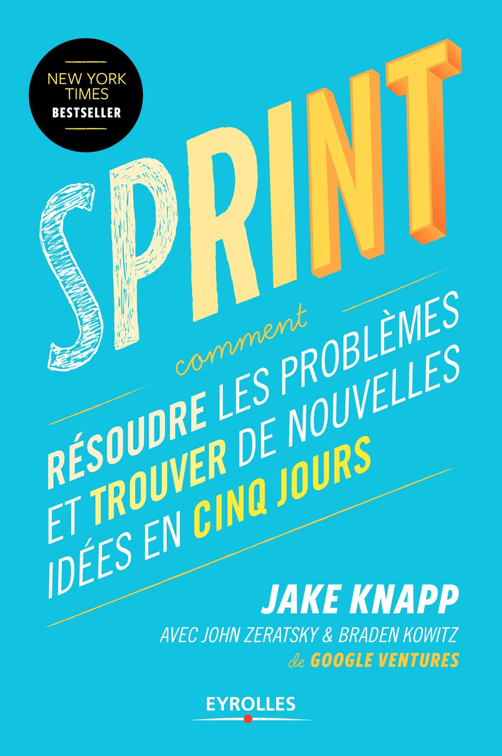 Livre Sprint, de Jake Knapp