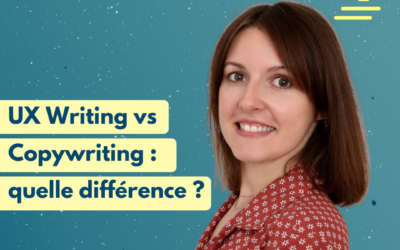 #24 UX Writing vs Copywriting : quelle différence ? | Justine Sudraud