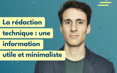 #27 La rédaction technique : une information utile et minimaliste | Alexandre Dias Da Silva